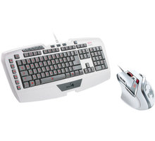 Genius GX Gaming White Edition, set klávesnice a myši
