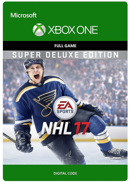 NHL 17: Super Deluxe Edition (Xbox ONE) - elektronicky