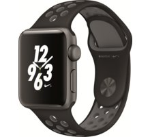 Apple Watch Nike + 38mm Space Grey Aluminium Case with Anthracite / Black Nike Sport Band - MQ162CN/A