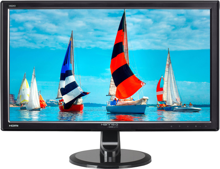 HANNspree HS243HPB - LED monitor 24""