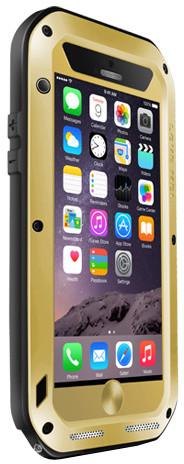 Love Mei Case iPhone 6 PLUS Three anti Straight version Golden