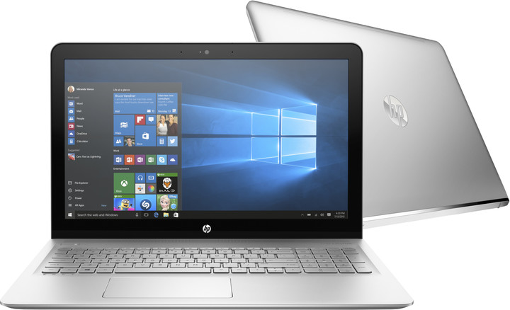 HP Envy 15 (15-as006nc), stříbrná