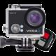 Niceboy VEGA 4K + dálkový ovládač  + BT reprodduktor Niceboy SOUNDgo v ceně 590 Kč + Niceboy Selfie tyč 52,5 cm černá v ceně 450 Kč
