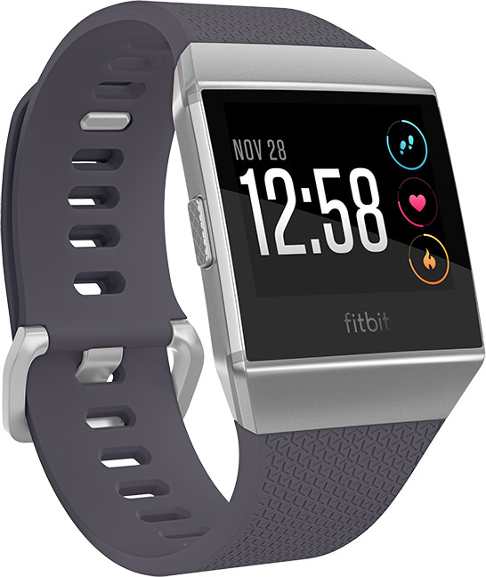 Fitbit Ionic, Blue-Gray/White