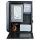 EuroCase Mini ITX X101, černá