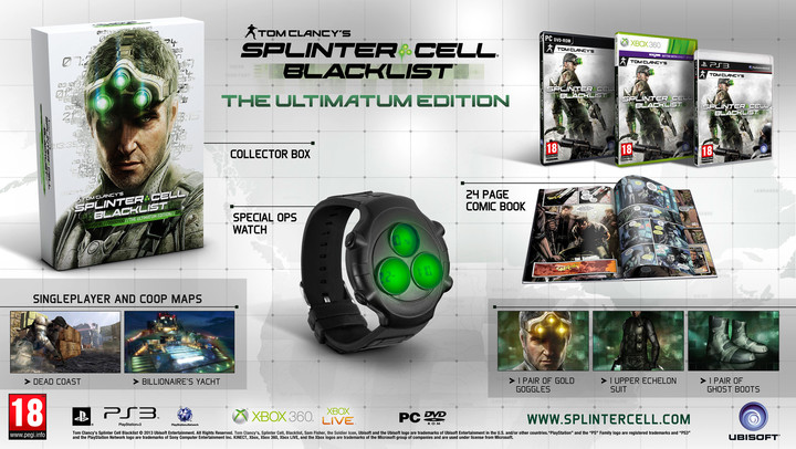 Splinter Cell: Blacklist - Ultimate Edition (PS3)