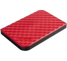 Verbatim Store'n'Go, USB 3.0 - 1TB, červená - 53203 + Gumovací pero Pilot FriXion Ball Clicker v hodnotě 89 kč