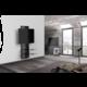 Meliconi 488300 GHOST DESIGN 3000 Sestava pro TV a komponenty k instalaci na zeď, černá