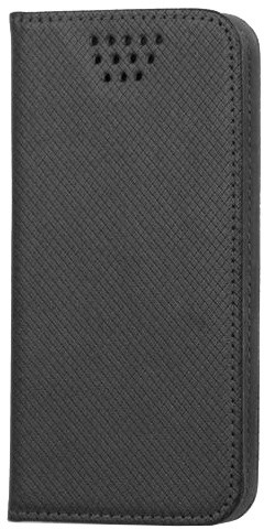 """Forever knížkové pouzdro (smartcase) typ b magnet univerzální 4,5-5,0"""" - černé"""