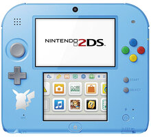 Nintendo 2DS Pokémon Ed. + Pokémon Sun - NI3H9410