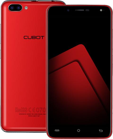 CUBOT Rainbow 2 - 16GB, červená