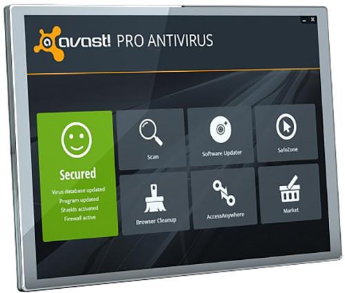 Avast! Pro Antivirus, 3 uživatelé (24 měs.)
