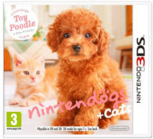 Nintendogs + Cats - Toy Poodle and new Friends (3DS) - 45496520243