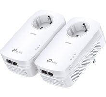 TP-LINK TL-PA9020PKIT, 2ks + Powerbank TP-LINK TL-PB10400, 10400mAh