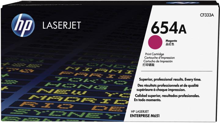 HP 654A, magenta