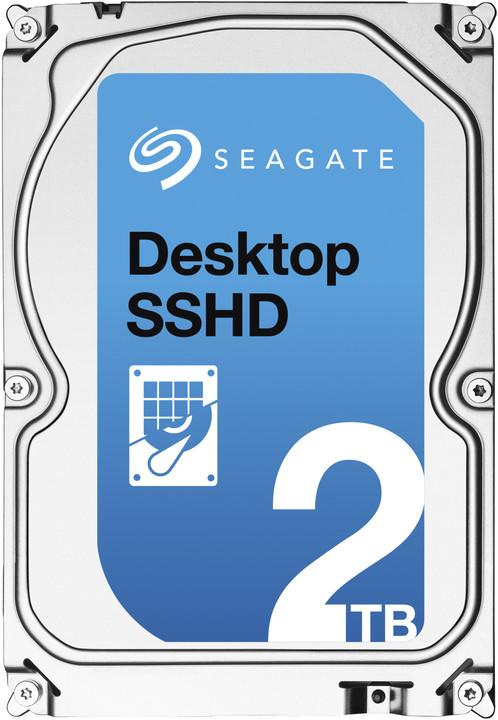 Seagate Desktop SSHD - 2TB