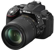Nikon D5300 + 18-105 VR AF-S DX - VBA370K004 + Samonafukovací karimatka Vango Trekker Long v ceně 1390 Kč