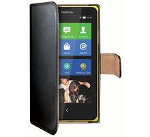 CELLY Wally pouzdro pro Nokia Lumia 630/635, černá - WALLY401