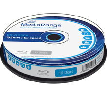MediaRange BD-R 6x, 25GB, 10 ks, spindle - MR499
