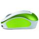 Genius Micro Traveler 9000R V2, bezdrátová, bílá/zelená