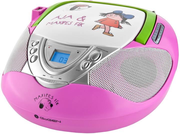 GoGEN MAXI RADIO P, růžová