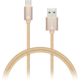 CONNECT IT Wirez Premium Metallic USB C - USB, gold, 1 m