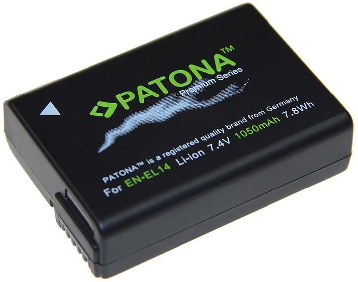 Patona baterie pro Nikon EN-EL14 1050mAh Li-Ion Premium