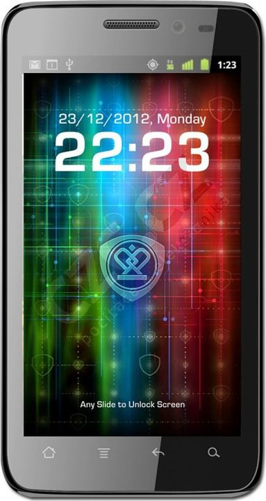 Prestigio MultiPhone 4300 DUO, černá