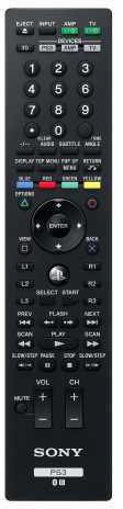 PlayStation 3 - BD Remote Control