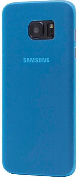 EPICO ultratenký plastový kryt pro Samsung Galaxy S7 Edge TWIGGY MATT - modrá