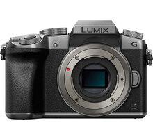 Panasonic Lumix DMC-G7, tělo, stříbrná - DMC-G7EG-S