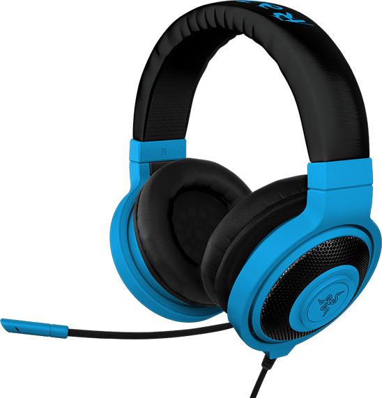 Razer Kraken Pro Neon, modrá