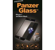 PanzerGlass ochranné sklo PREMIUM na displej pro Apple iPhone 7 Jet black - 2005