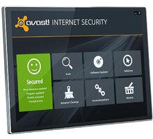 Avast! Internet Security, 3 uživatelé (24 měs.) - AIS8024RCZ003