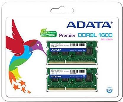 ADATA Premier 8GB (2x4GB) DDR3 1600