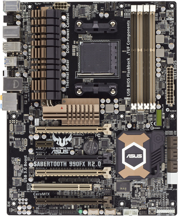 ASUS SABERTOOTH 990FX R2.0 - AMD 990FX