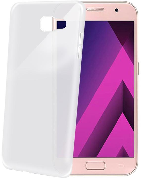 CELLY Frost Ultra tenké TPU pouzdro pro Samsung Galaxy A3 (2017), 0,29 mm, bílé