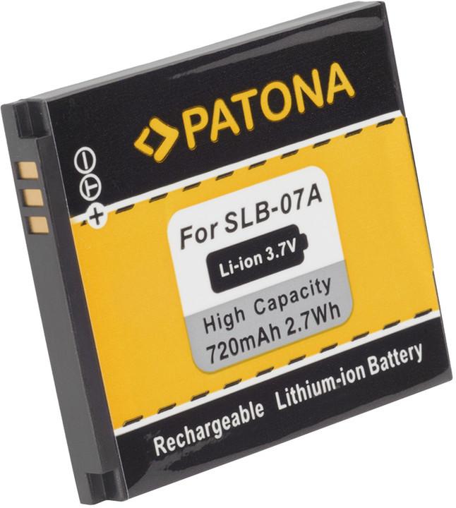 Patona baterie pro Samsung SLB-07A 720mAh Li-Ion 3,7V