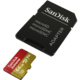 SanDisk Micro SDXC Extreme V30 - 64GB 90 MB/s UHS-I + SD adaptér