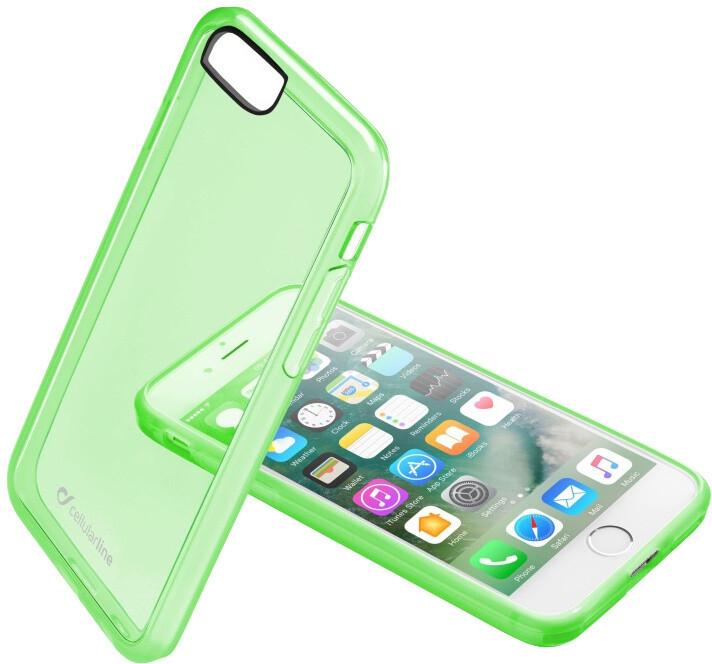 CellularLine Color průhledný zadní kryt pro Apple iPhone 7, zelená