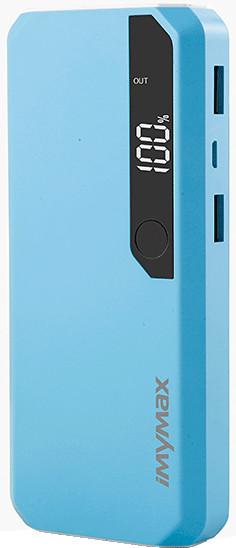 iMyMax Fashion Power Bank 10.000mAh, modrá