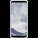 Samsung S8+, silikonový zadní kryt, bílá