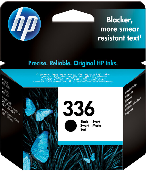 HP C9362EE, no.336, černá