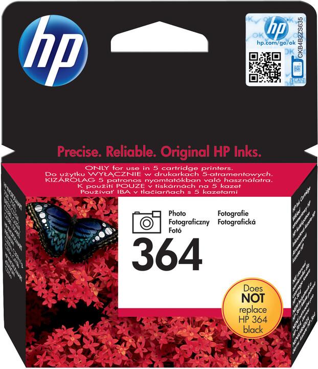 HP CB317EE, č. 364, photo černá