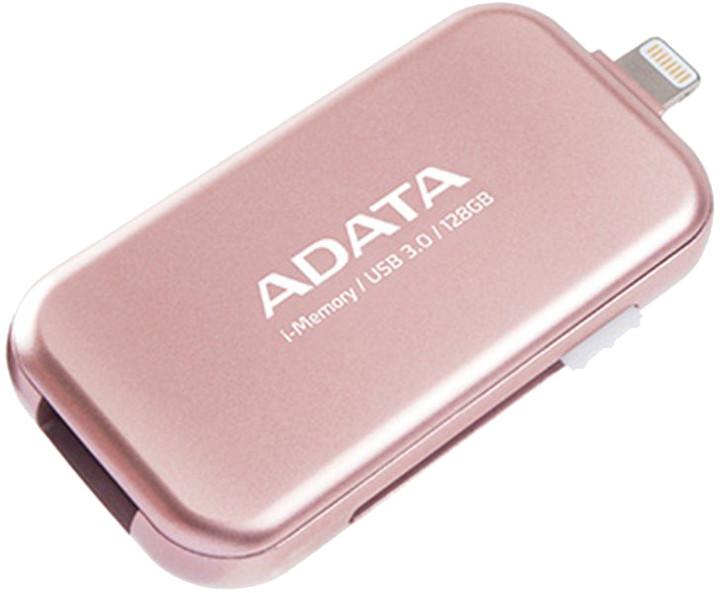 ADATA UE710 - 128GB, růžová