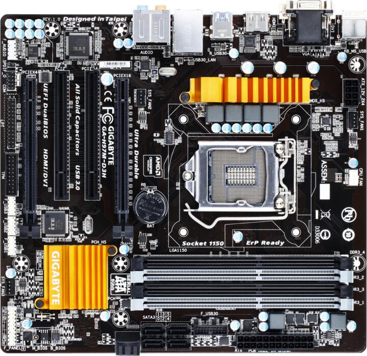 GIGABYTE GA-H97M-D3H - Intel H97