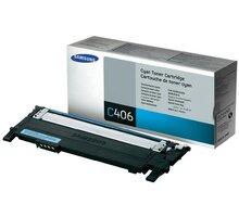 Samsung CLT-C406S, azurová - CLT-C406S/ELS