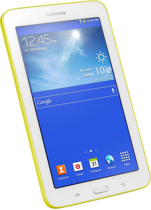 Samsung Galaxy Tab 3 7.0 Lite, lemon yellow