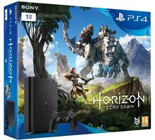 PlayStation 4 Slim, 1TB, černá + Horizon Zero Dawn - PS719826163