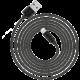 Trust Flat Lightning kabel 2m, černá